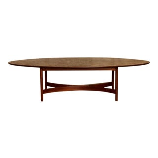 1960s Mid Century Modern Surfboard Coffee Table For Sale