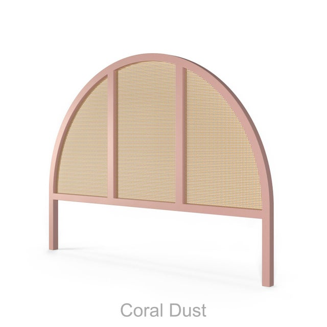 Eva Headboard - King - Coral Dust For Sale - Image 4 of 4