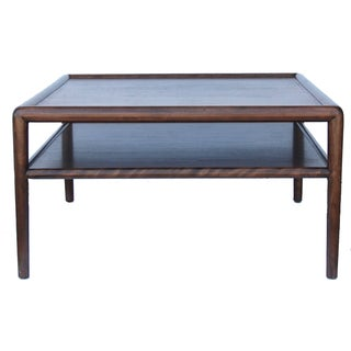 Robsjohn Gibbings Vintage Walnut Side Table