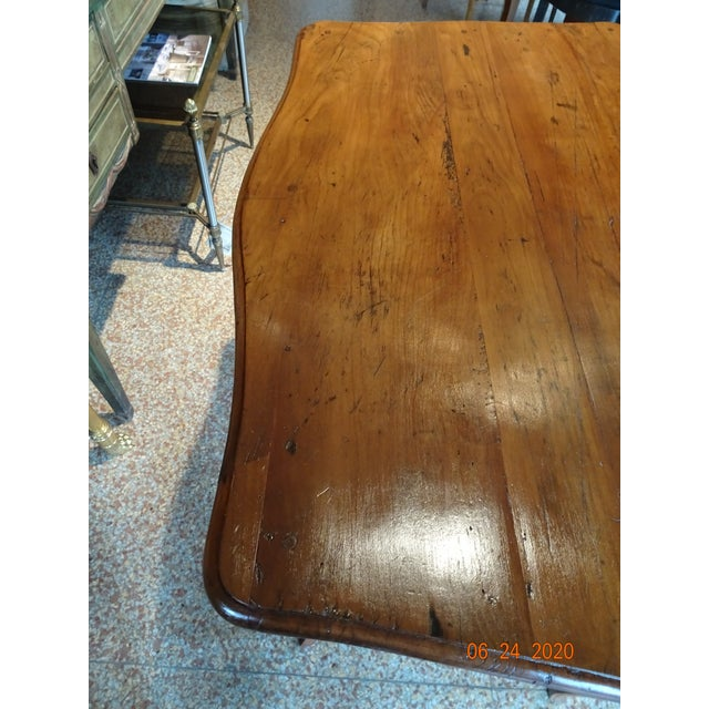 18th Century French Walnut Table For Sale - Image 10 of 13