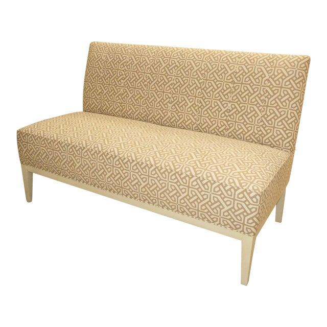 Hickory Chair Upholstered Dining Bench . Banquette . Settee . Loveseat For Sale
