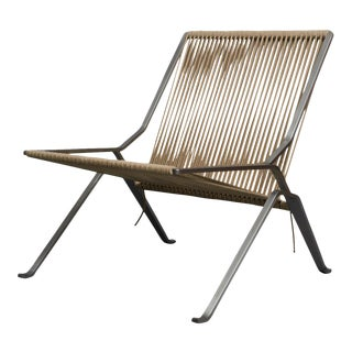 poul kjaerholm pk-25 lounge chair For Sale