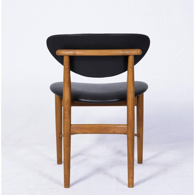 1950s Set of Six Finn Juhl NV 55 Dining Chairs For Sale - Image 5 of 10
