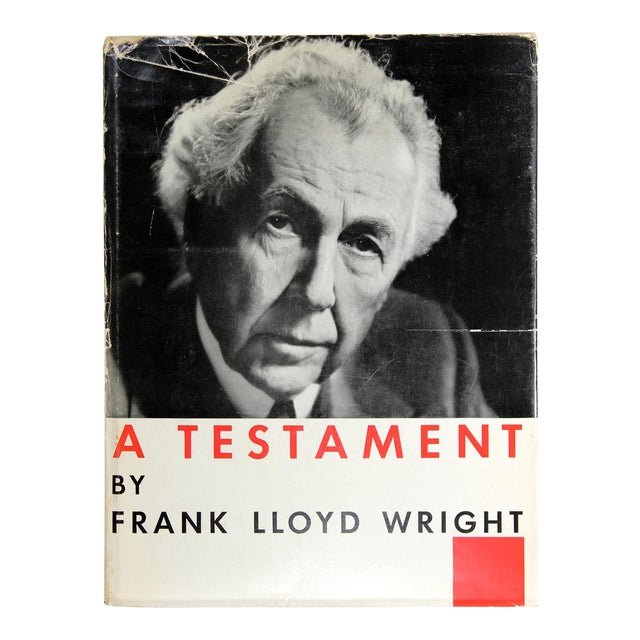 Frank Lloyd Wright: A Testament, First Edition For Sale