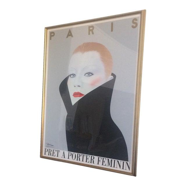 """""""Pret a Porter Feminin"""" Framed Poster For Sale"""