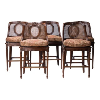 Century LaSalle Bar Stools - Set of 5