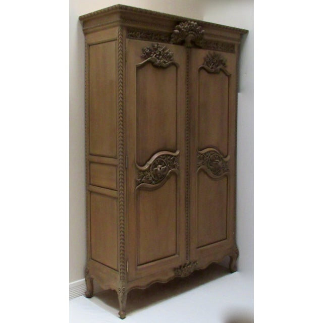 C.1879-1930's; Stunningly gorgeous,, Antique French, Luis XV, mahogany elaborately, and intricately, wood-carved tall...