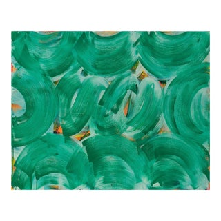 "Anne Russinof ""Green Whirl"", Painting For Sale"