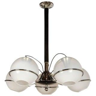 Globes Chandelier by Gino Sarfatti For Sale