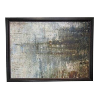 Contemporary Framed Giclee Painting For Sale