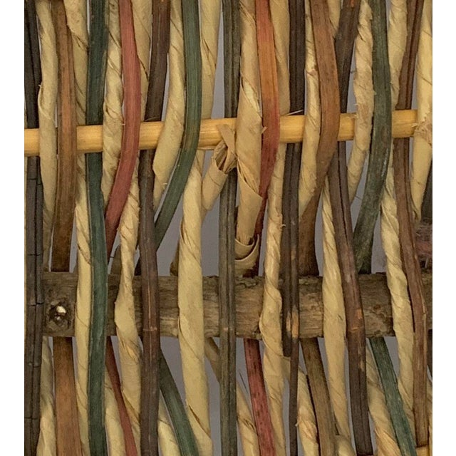 Vintage Buttocks Gathering Basket For Sale - Image 11 of 13