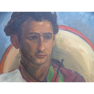 Portrait of a Young Mexican Man For Sale