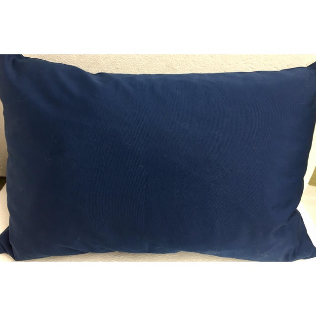 Quilted Mola Clouds Pillow - Image 5 of 5