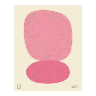 """Pink over Pink, 18x24"""" Giclee Print For Sale"""