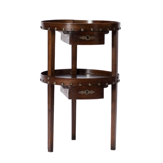 19th C. French Walnut Table - Image 6 of 6