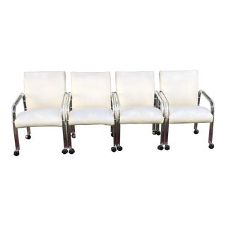 1970s Vintage Lucite Chairs- Set of 4 For Sale
