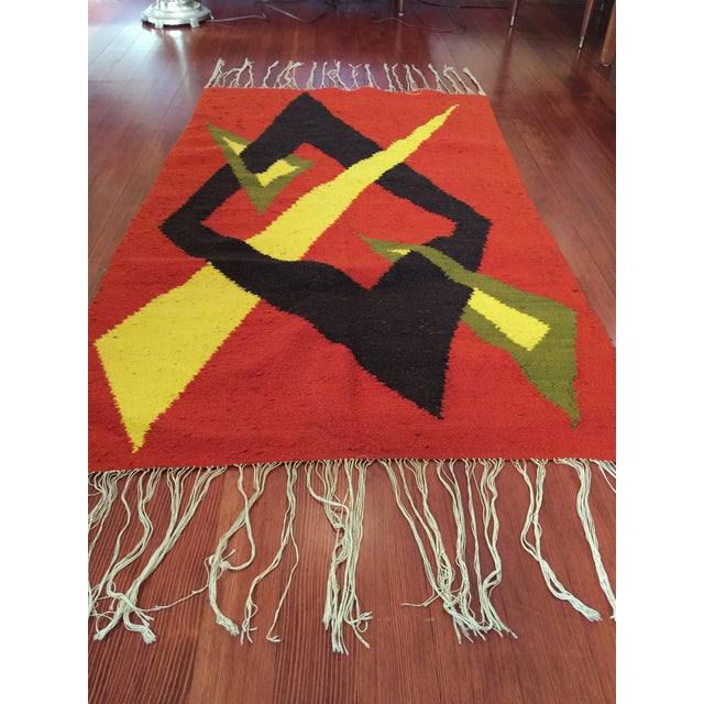 Tribal Accent Rug - 2′10″ × 4′9″ - Image 7 of 8