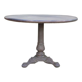 Restoration Hardware French Acanthus Brasserie Table