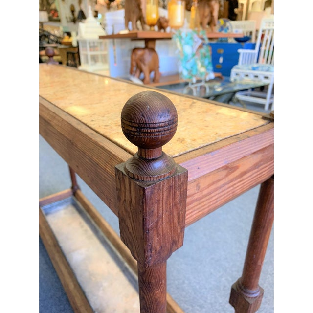 Traditional Umbrella Stand: 19th Century English Traditional Umbrella Stand Console