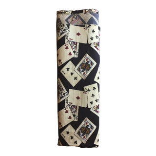Vintage Scalamandré Playing Cards Fabric