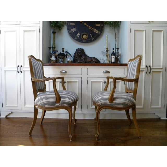 Vintage French Style Fauteuils - A Pair - Image 5 of 6