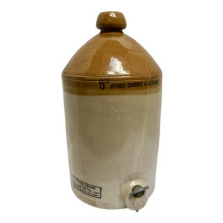 Vintage Batey London Ginger Beer Stoneware Crock For Sale
