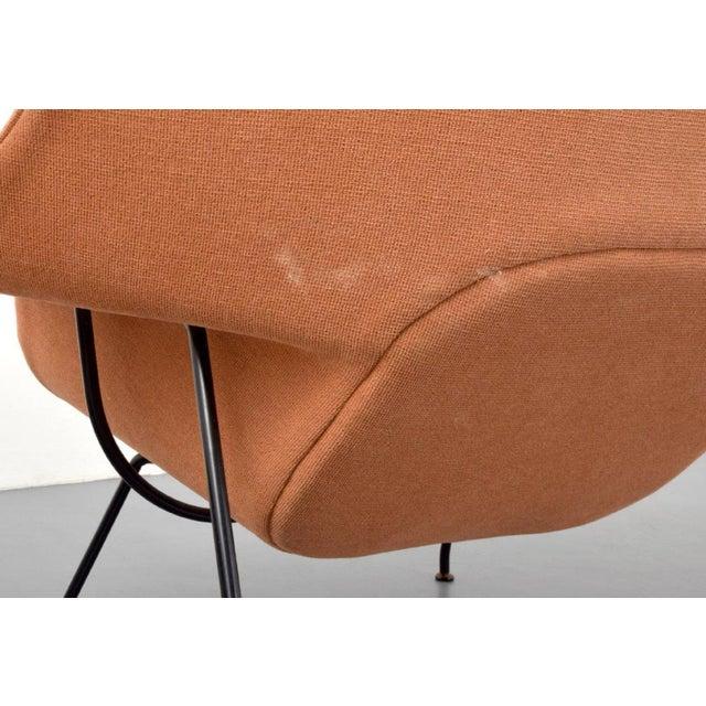 Eero Saarinen Eero Saarinen Womb Lounge Chair and Ottoman, Usa, 1960s For Sale - Image 4 of 8