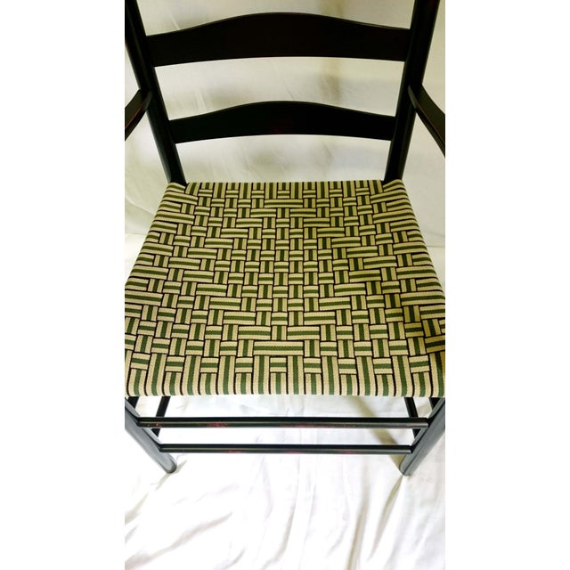 Cottage Reproduction Shaker Elder's Chair For Sale - Image 3 of 11