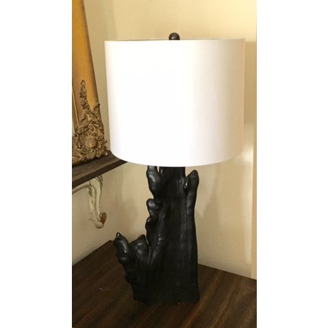 Vintage Ember Log Lamp - Image 3 of 5