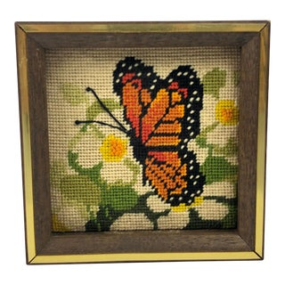 Vintage Butterfly Wall Art For Sale