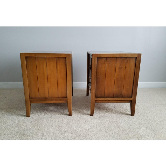 Drexel Meridian Nightstands – A Pair - Image 4 of 11