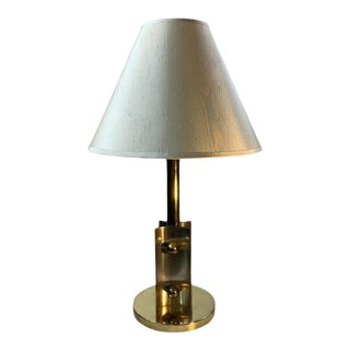 Modernist Art Deco Lamp by Walter Von Nessen For Sale