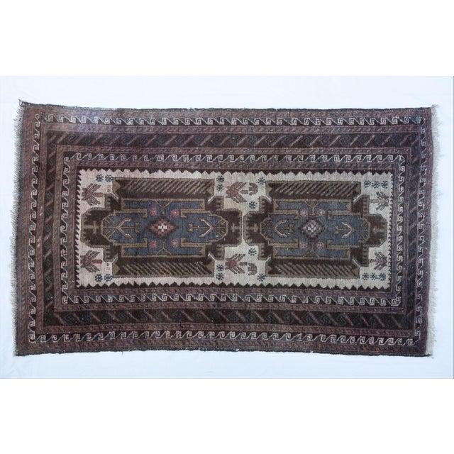 """Vintage Turkish Tribal Rug 'Asli' - 2'9""""x4'9"""" - Image 2 of 5"""