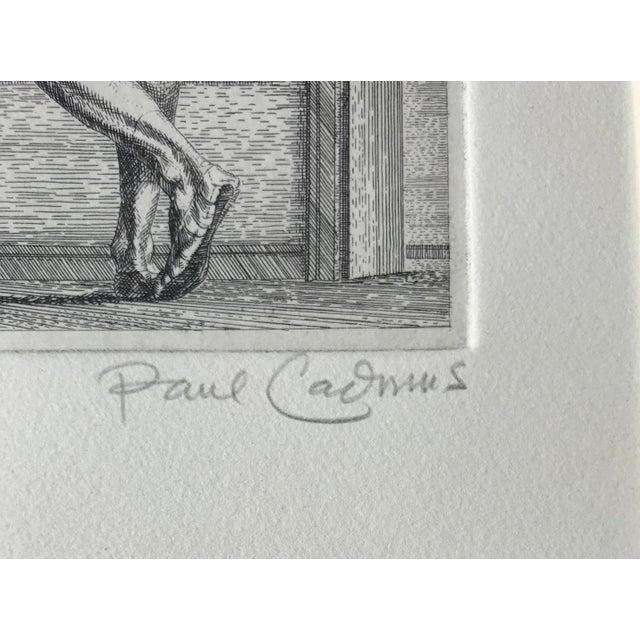 Paul Cadmus (1905-1999) Arabesque Etching, 6 1/2 x 6 1/2 Pencil signed Arabesque originally dates from 1947. In 1969,...