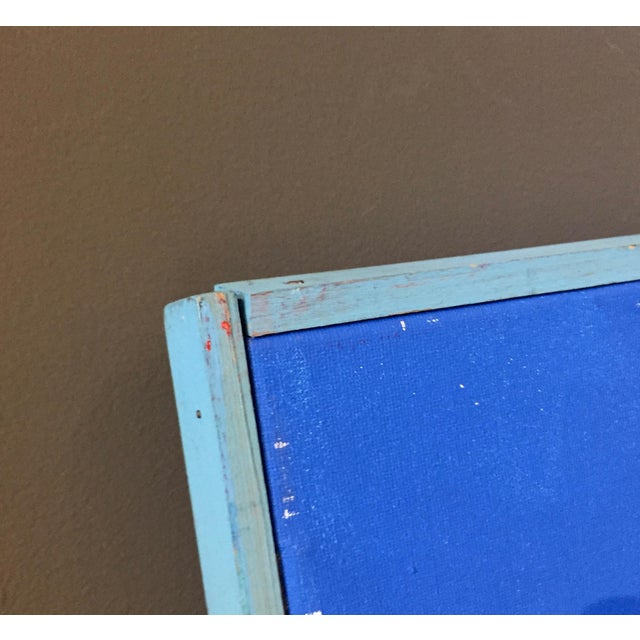 "Acrylic Patrick Moya ""Mercure Bleu"" Acrylic, France For Sale - Image 7 of 10"