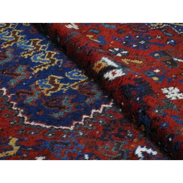Early 20th Century Shiraz Carpet For Sale - Image 5 of 10
