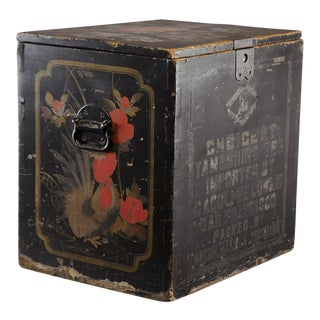 19th Century Japanese Store Display Tea Box For Sale