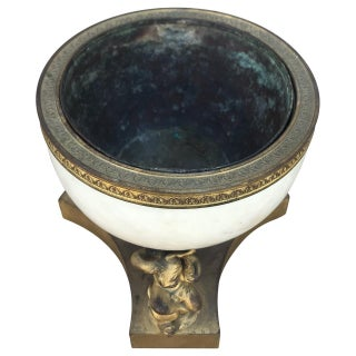 18th Century Ormolu and Marble Cachepot Preview