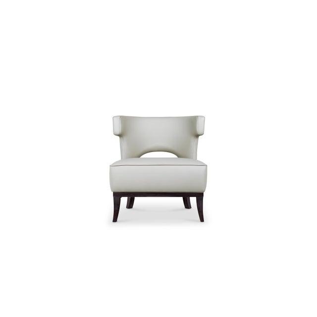 Black Kansas Armchair From Covet Paris For Sale - Image 8 of 8