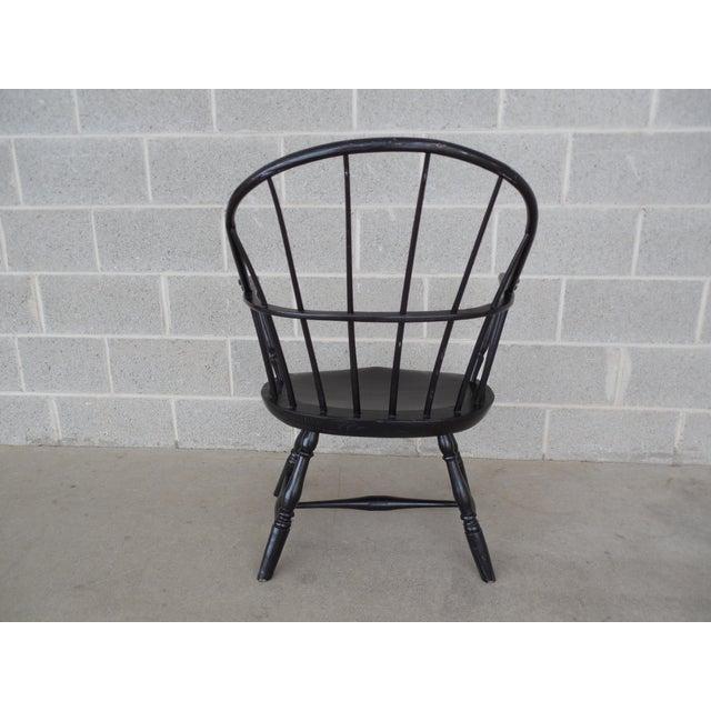Antique Hoop Back Windsor Armchair For Sale - Image 10 of 10
