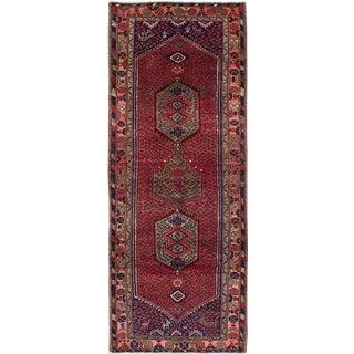 Vintage Tirbod Persian Rug - 3′8″ × 9′5″