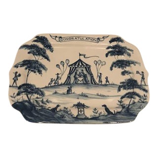 Juliska Country Estate Delft Blue Tray