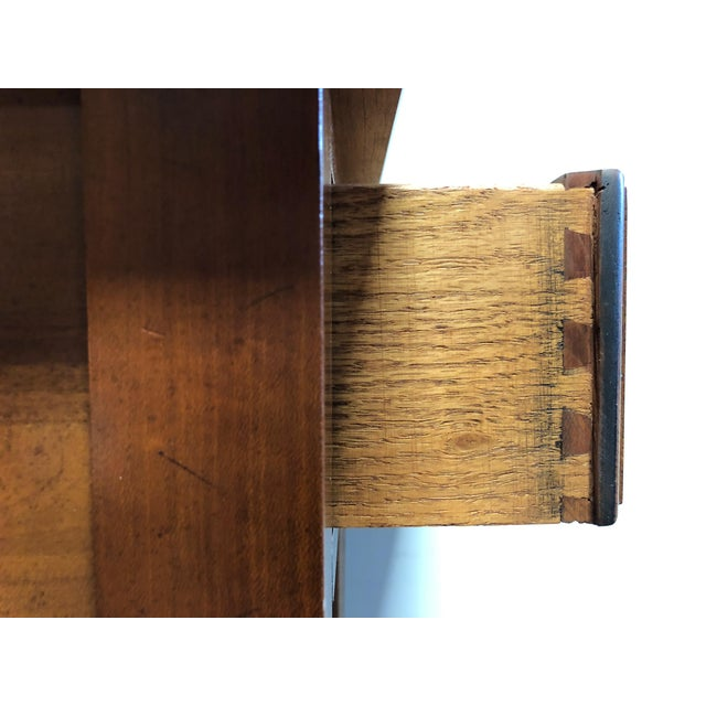Solid Cherry Chippendale Nightstand by Cherry Hill Collection For Sale - Image 10 of 12