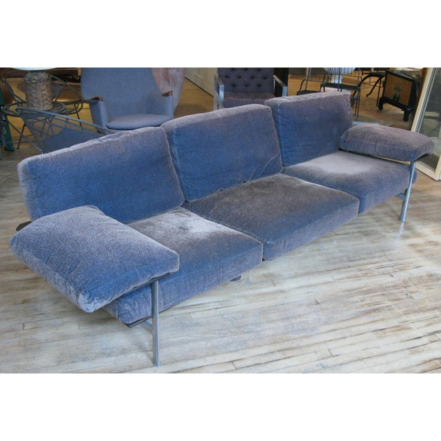 An outrageously comfortable and stylish 1990s Diesis sofa designed by Antonio Citterio and made in Italy by B&B Italia....