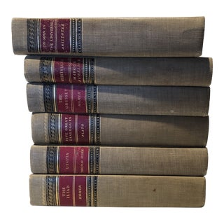 Antique Collectable Accredited Novels - Set of 6 For Sale