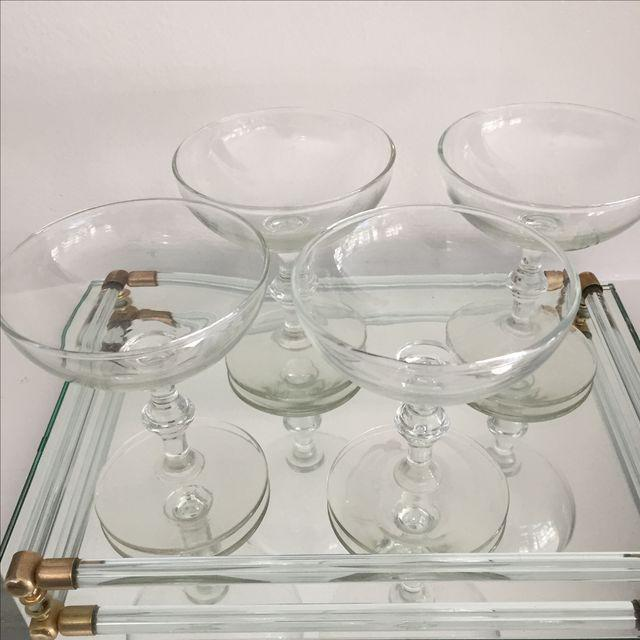 Vintage Libbey Champagne Coupes - Set of 4 - Image 4 of 6
