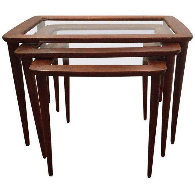 Ico Parisi Italian Nesting Tables - Set of 3 For Sale - Image 5 of 5
