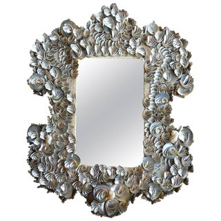 Sea Shell Mirror For Sale