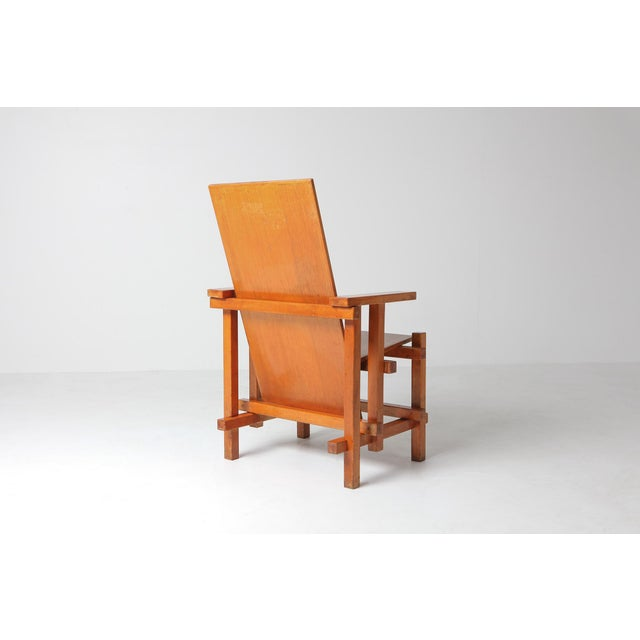 Gerrit Rietveld Modernist Armchairs Attributed to Gerrit Rietveld For Sale - Image 4 of 10