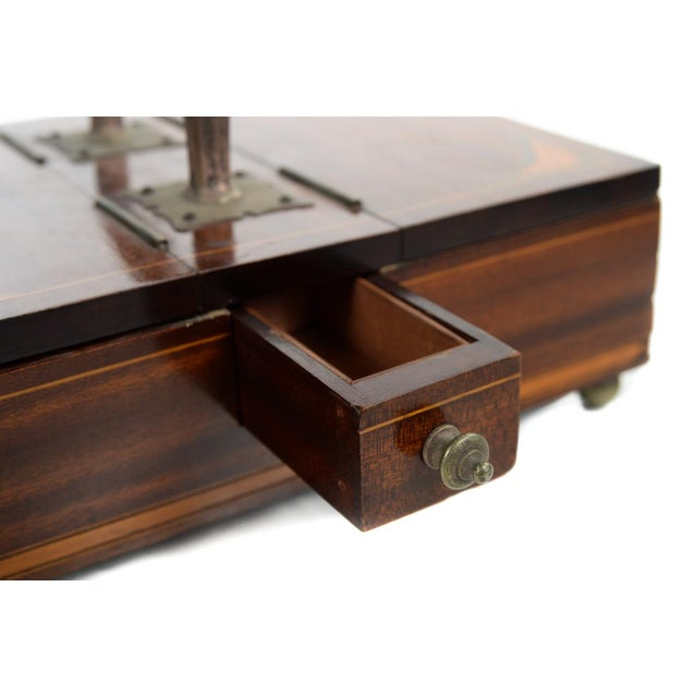 Traditional 19th Century Unusual English Gentleman Box For Sale - Image 3 of 9